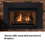 Contemporary Steel Surround for 33000-BTU Fireplace Insert - 6""
