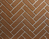 "Ceramic Fiber Liner for 48"" Deluxe Fireplaces - Herringbone Brick"