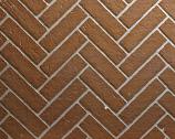 """Ceramic Fiber Liner for 36"""" Premium Fireplaces - Herringbone Brick"""
