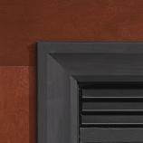 Decorative Matte Black 3-Sided Metal Frame for Insert - DS33661BL