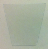 Tempered Glass Pane for HK GG and HJ Outdoor Lamps-qty of 1