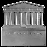 """17"""" x 18"""" Parthenon Fireback"""