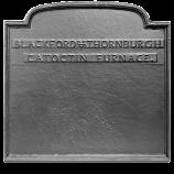 "22.625"" x 21.75"" Catoctin Furnace Fireback"