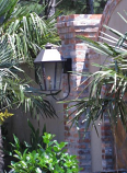 Magnolia Medium Steel Wall Mount Single Candelabra Lantern