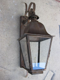 Quebec Large Copper Wall Mount Lantern