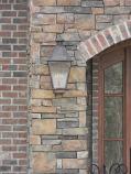 Quebec Medium Copper Wall Mount Lantern