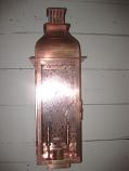 Sarasota Small Copper Wall Mount Lantern