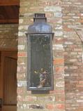 Sarasota Small Copper Wall Mount Automatic Ignition Pendant Lantern