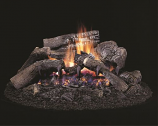 "Natural Gas Blue Ridge 24"" Vented Gas Log Set"