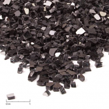 Fire Glass Filler, Black Reflective Glass