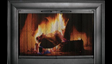 CE3323- Celebrity Anodized Aluminum Fireplace Enclosure