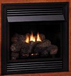 "Empire VFD26FP20LP Vent-Free 26"" Thermostat 20,000 BTU Fireplace - LP"