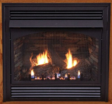 "Premium 32"" Vent-Free IP Control NG Fireplace with Blower"