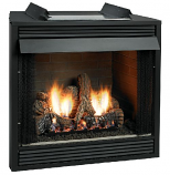 """Deluxe 32"""" Vent-Free Firebox - Louver"""