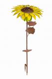 Sunflower Garden Torch By Desert Steel
