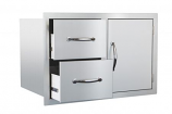 Door/2-Drawer Combo SSDC-1 By Summerset Grills