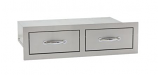 Double Horizontal Drawers By Summerset Grills