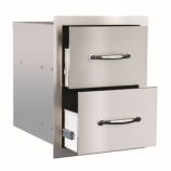 Double Drawer SSDR-2 By Summerset Grills