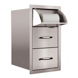 Towel/2-Drawer Combo By Summerset Grills