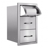 Masonry Towel/2-Drawer Combo By Summerset Grills