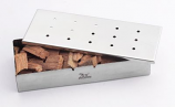 Stainless Steel Wood Chip Smoker Box for Charcoal or Gas Grill