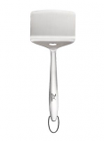 Stainless Steel Non-Slotted 7-Inch Wide Fish Turner Spatula
