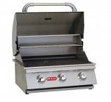 24'' Stainless Steel Built-In Natural Gas Barbecue Grill by Bull BBQ