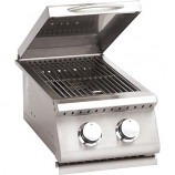 Double Stainless Steel Natural Side Burner for Summerset Sizzler Grills