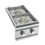 Propane 15,000 BTW TRL Double Stainless Steel Propane Side Burner