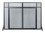 Windowpane Screen W/ Doors