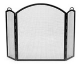 Arched Three-Part Folding Screen - Large