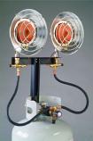 Adjustable Double Head Heater - 28k BTU
