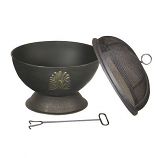 Acanthus Outdoor Fire Bowl