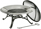 Round Stainless Steel Fire Bowl