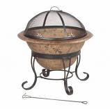 Soleil Steel Fire Bowl