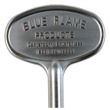 "3"" Universal Valve Key - Satin Chrome"