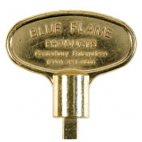 "8"" Universal Key Polish Brass By Blue Flame"