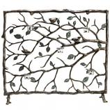 Bird & Branch Fireplace Screen