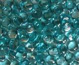 5 lb Container Aquamarine Crystal Fire Gems