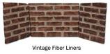 Superior BLZ32SVF Vintage Fiber Liner for Vent-Free Firebox
