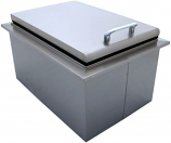 Stainless Steel Drop In Outdoor Ice Chest