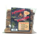Fatwood Fire Starter in Poly Bag - FAT-1