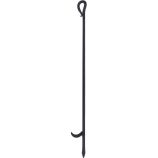 Black Wrought Iron Poker - 28.5 inch