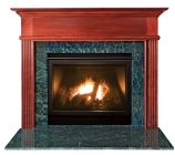 Kensington MDF Primed White Fireplace Mantel Surround - 36 inch