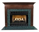 Windsor MDF Primed White Fireplace Mantel Surround - 36 inch