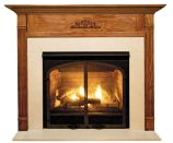 Newport MDF Primed White Fireplace Mantel Surround - 42 inch