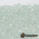 "1 Pound Bag of 1/4"" Icy Mint Fireglass"