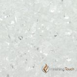 "1 Pound Bag of 1/4"" Crushed Ice Fireglass"