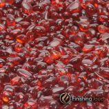 "1 Pound Bag 1/4"" Scarlet Red Glass Pebbles"