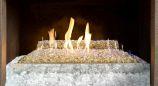 G21GL18 Vent Free Remote Glass Burner - Natural Gas